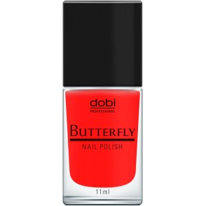 Butterfly nail polish number 1 (11ml) Butterfly nails polish