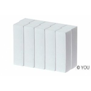 White buffer (1 piece) Nail files-buffer
