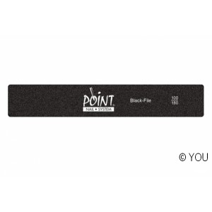 Point black  file (100/180) Nail files-buffer