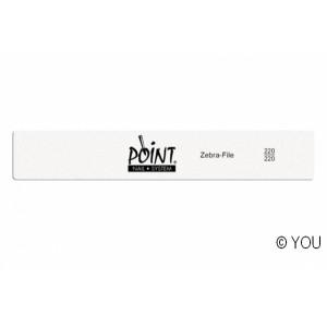 Point zebra file (220/220) Nail files-buffer