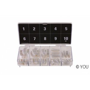 Tip box french (300 pieces) Tip box
